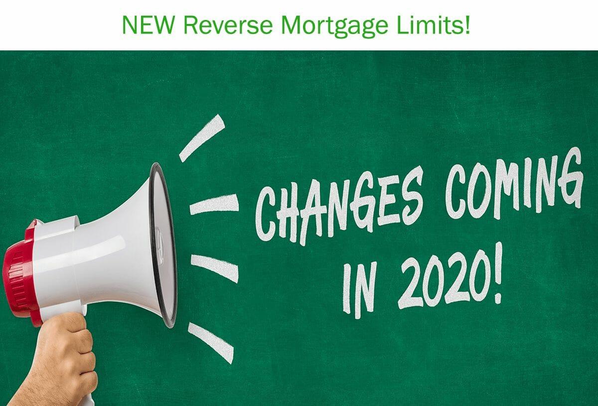 2020 Reverse Mortgage Lending Limits
